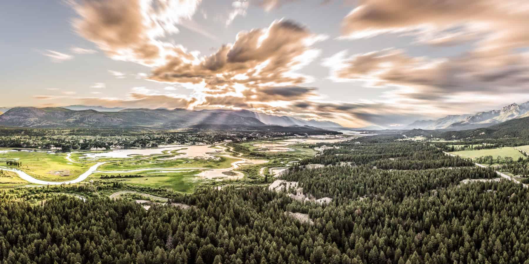 Aerial photo fairmont