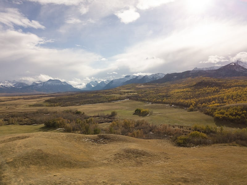 Waterton, Alberta Aerial Photo, Set Up Your Drone and Camera